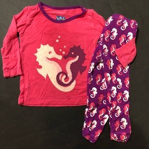 Kickee seahorse outfit
